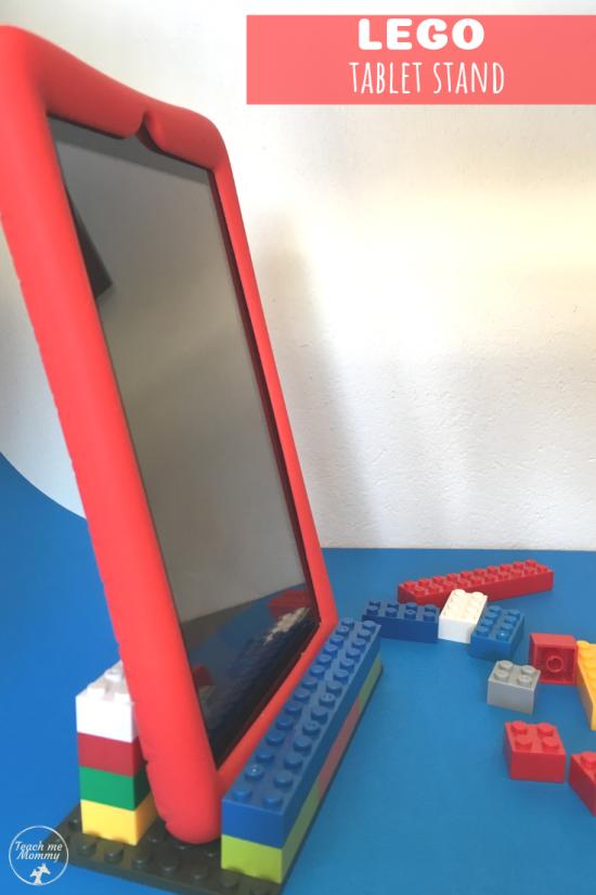 LEGO Tablet Stand - Teach Me Mommy