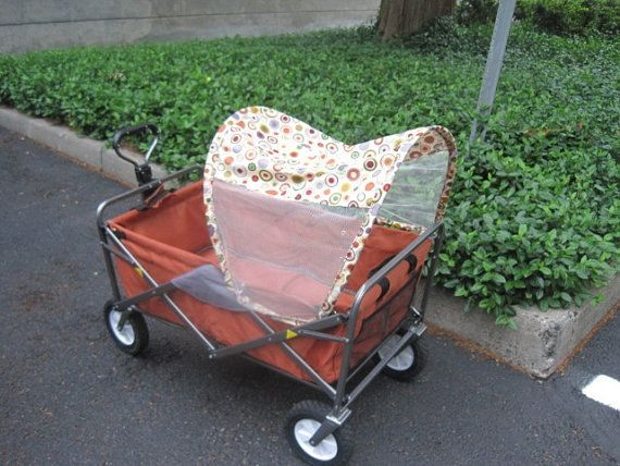 SunShade Wagon Canopy For The Folding Wagons By WagonCanopies 3000