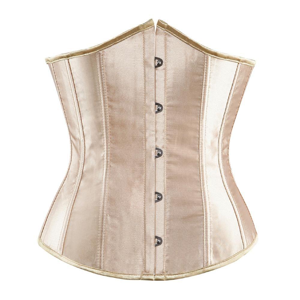 637b92a733 SEXY Gothic Underbust Corset and Waist cincher Bustiers Top Workout Shape  Body Belt Plus size Lingerie
