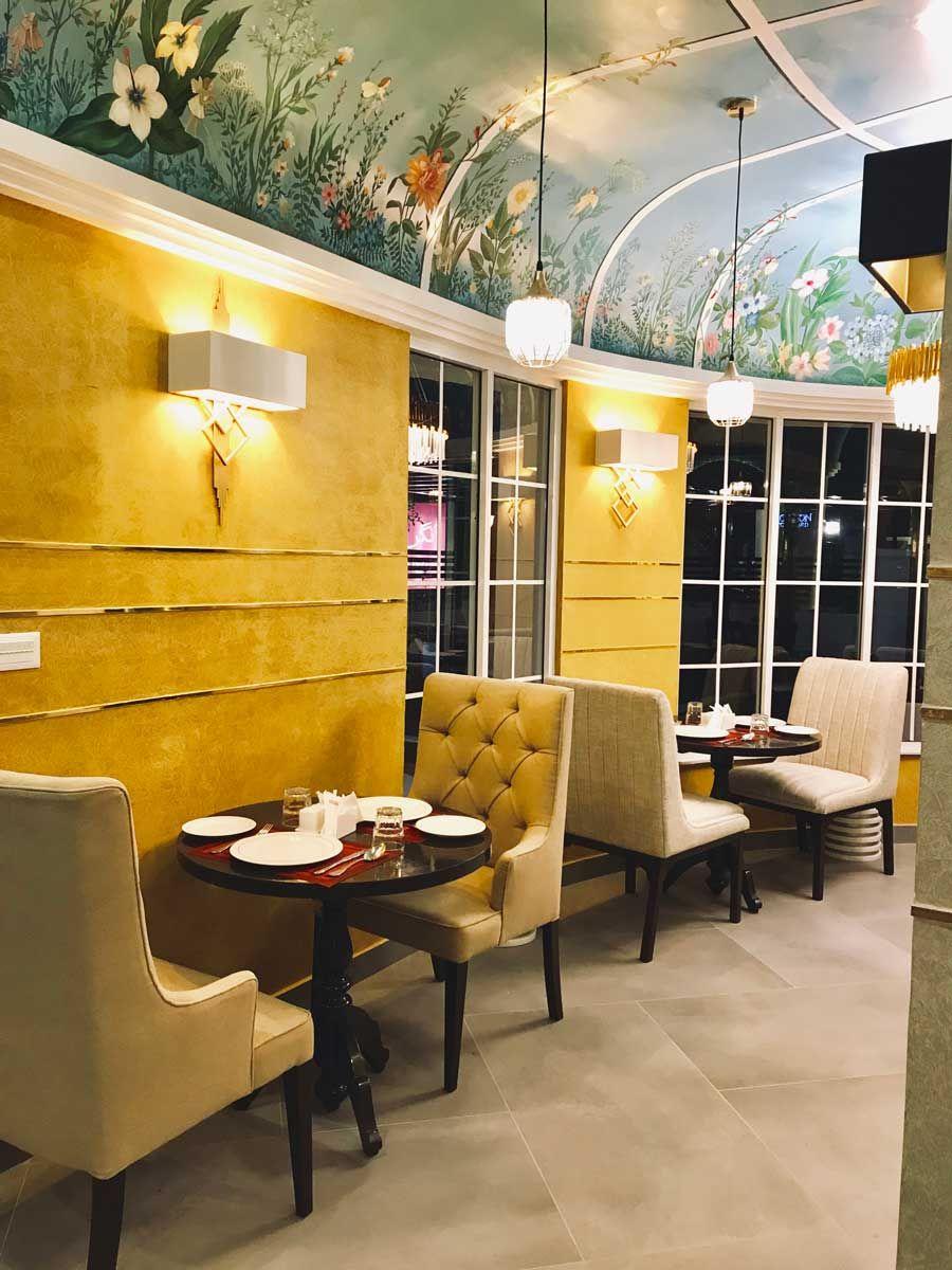 Restaurant Design By Sadia Ammar Associates Aangan By Lcy Multan Pakistan Restaurant Design Front Courtyard Design Firms