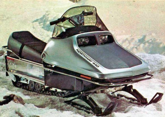 Snowmobile Timeline 1974 Northway Interceptor Snowmobile Vintage Sled Snow Vehicles