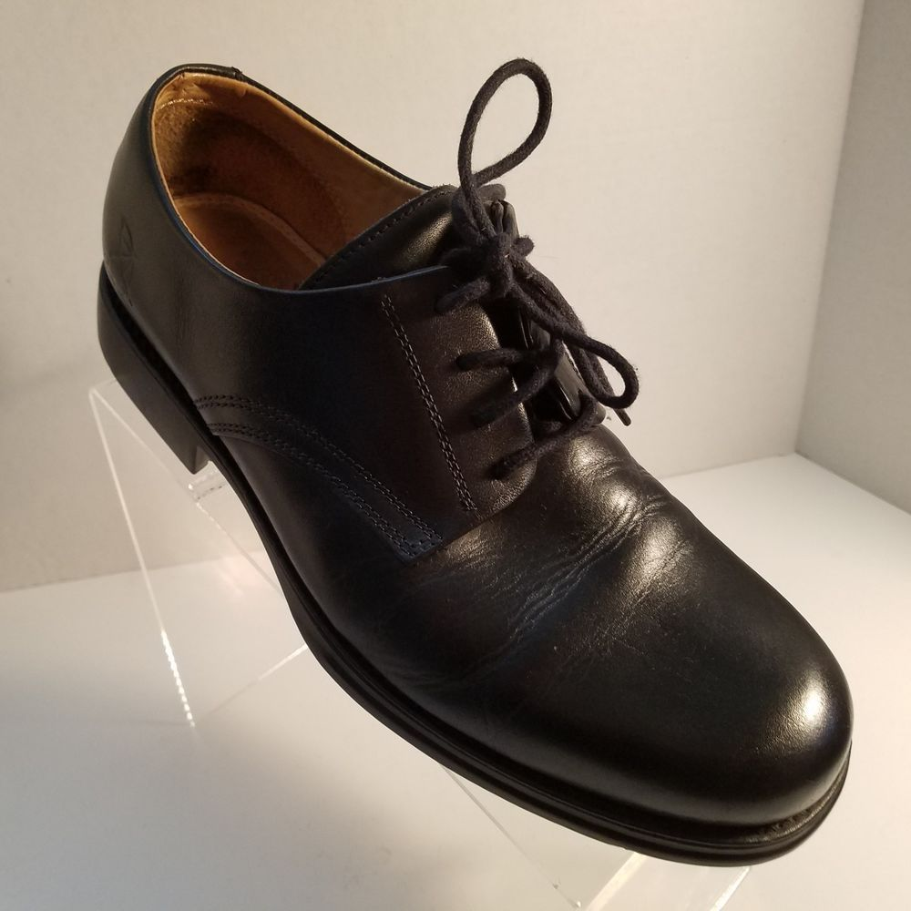 e3bdf4b497a Arnold Palmer Mens Spikeless Golf Shoes Black Leather Size 8.5M Made In  Brazil  ArnoldPalmer