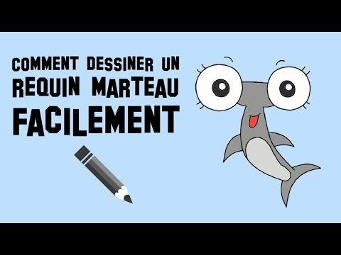 Comment dessiner un requin marteau facilement youtube - Dessiner un requin blanc ...
