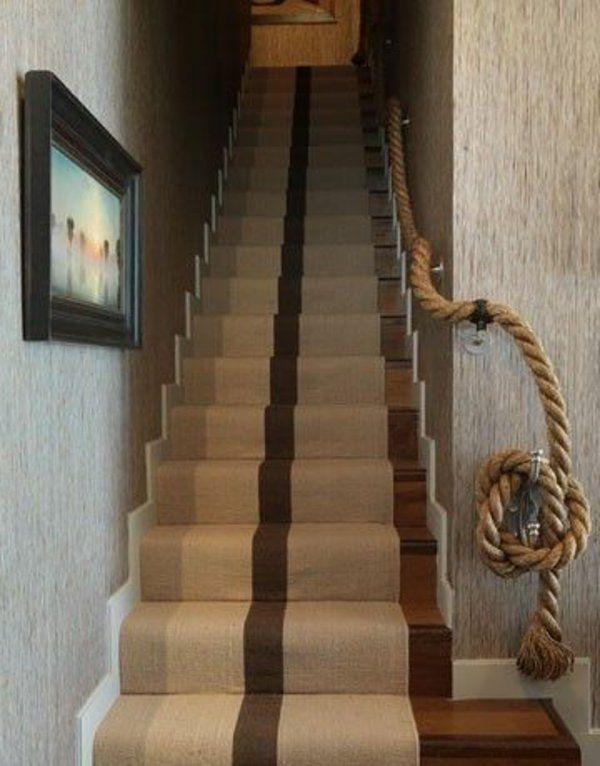 Bekannt Geländer selber bauen - eigenartige Treppengeländer aus Holz YY46
