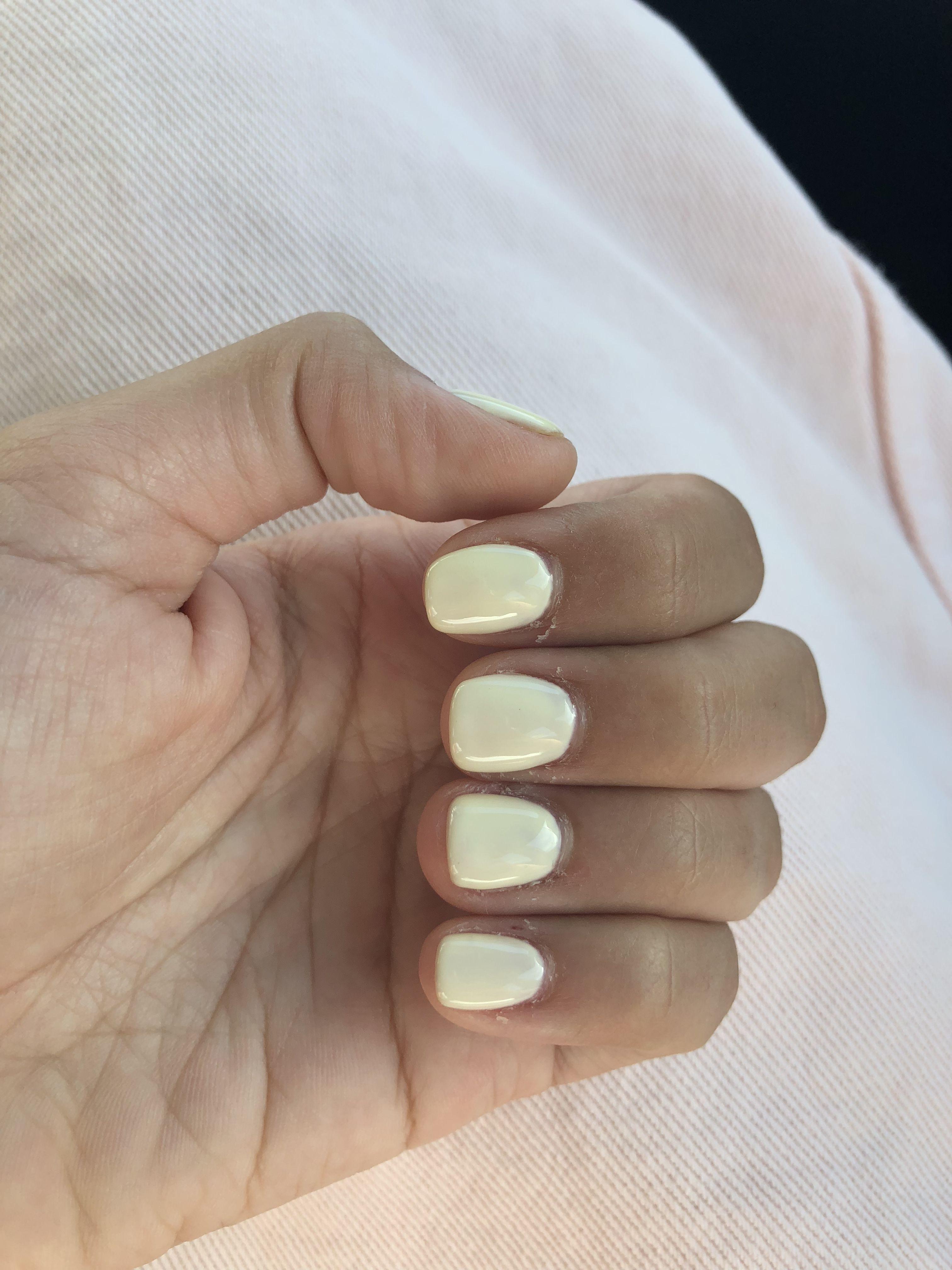 Pastel Yellow Gel Nails Gel Nails Nails Nail Inspo