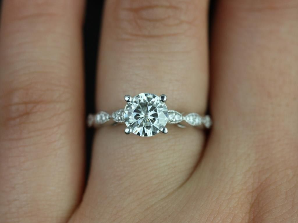10 Best Images About Rings On Pinterest Engagement Leaf