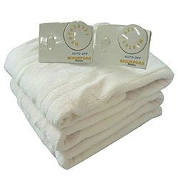 Knit Microplush Heated Electric Blanket Cozywinters Heated