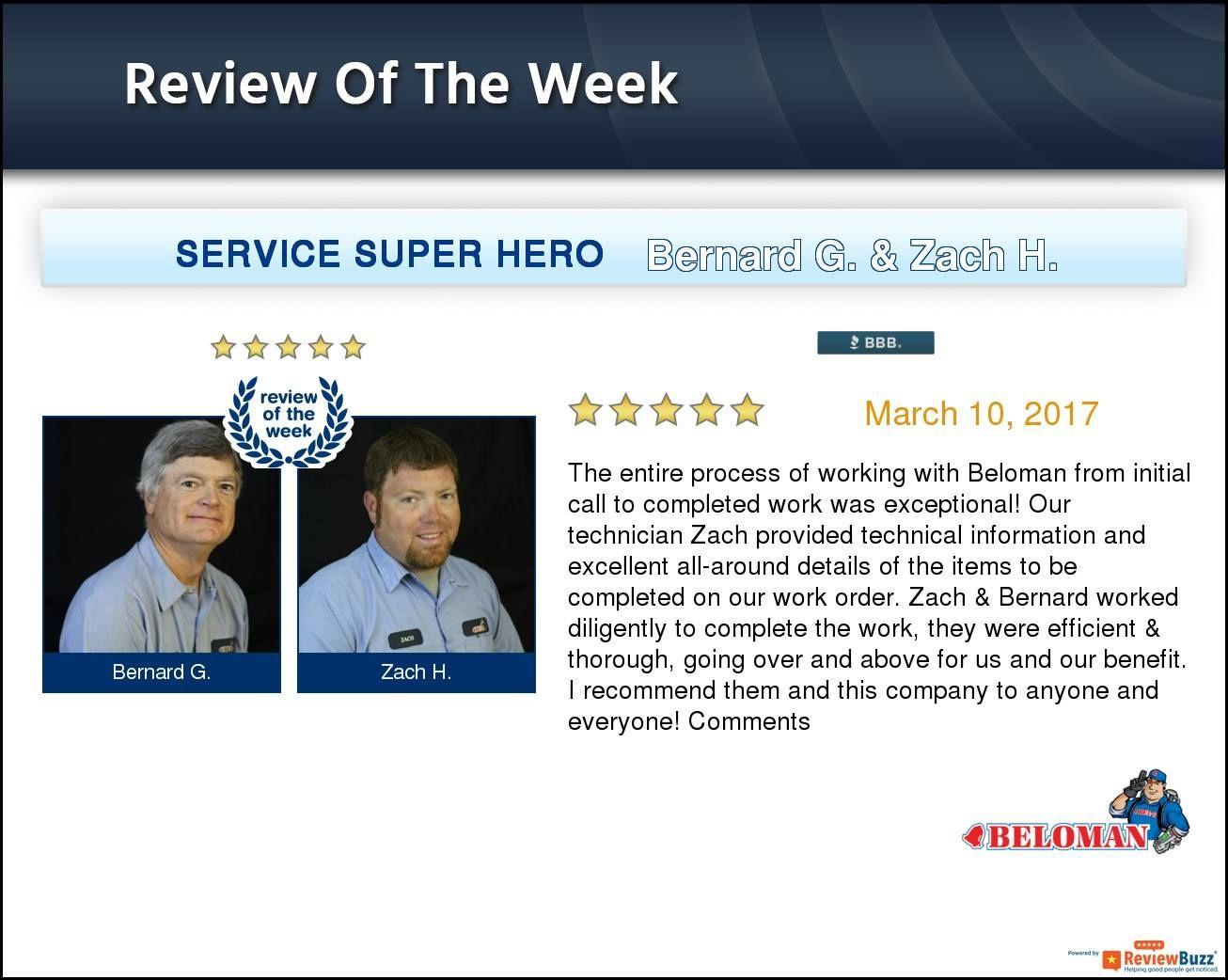 Review Of The Week Beloman Reviewoftheweek Google Reviews