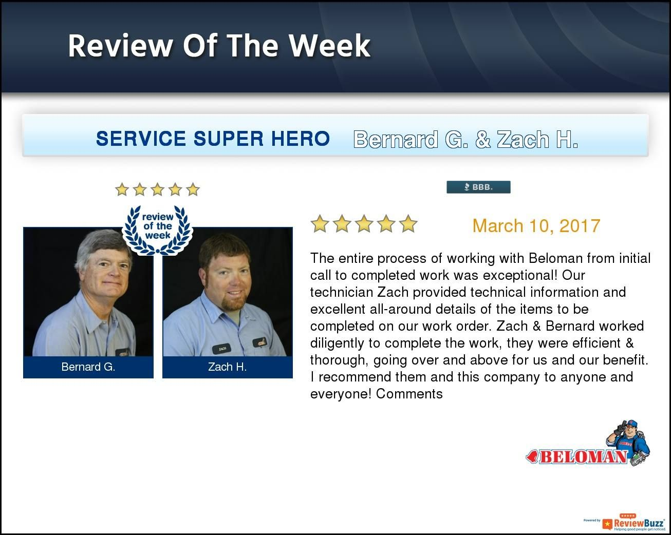 Review Of The Week Beloman Reviewoftheweek Google Reviews Positive Attitude Belleville