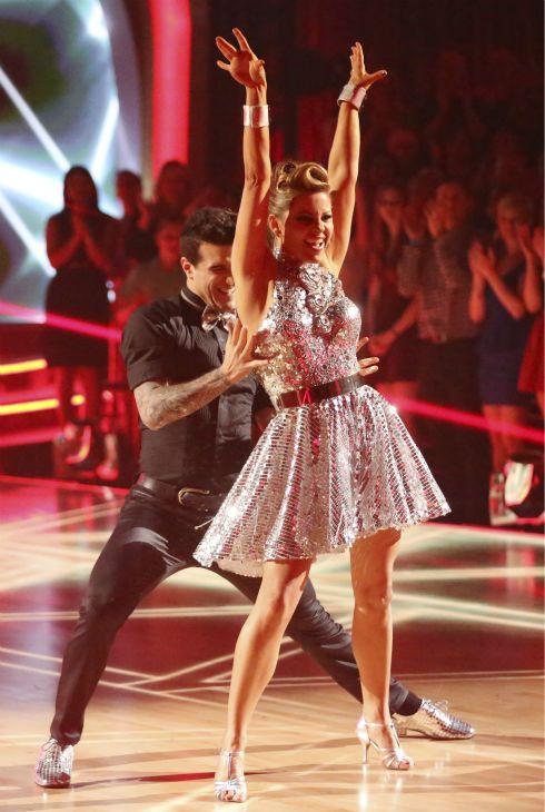 Wk 6 Candace Mark Danced Cha Cha Cha Candace Cameron Bure Dancing With The Stars Candace Cameron