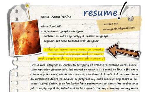 Unique Resume Ideas Simple 45 Creative Resumes To Seize Attention  Resumes Cover Letters .