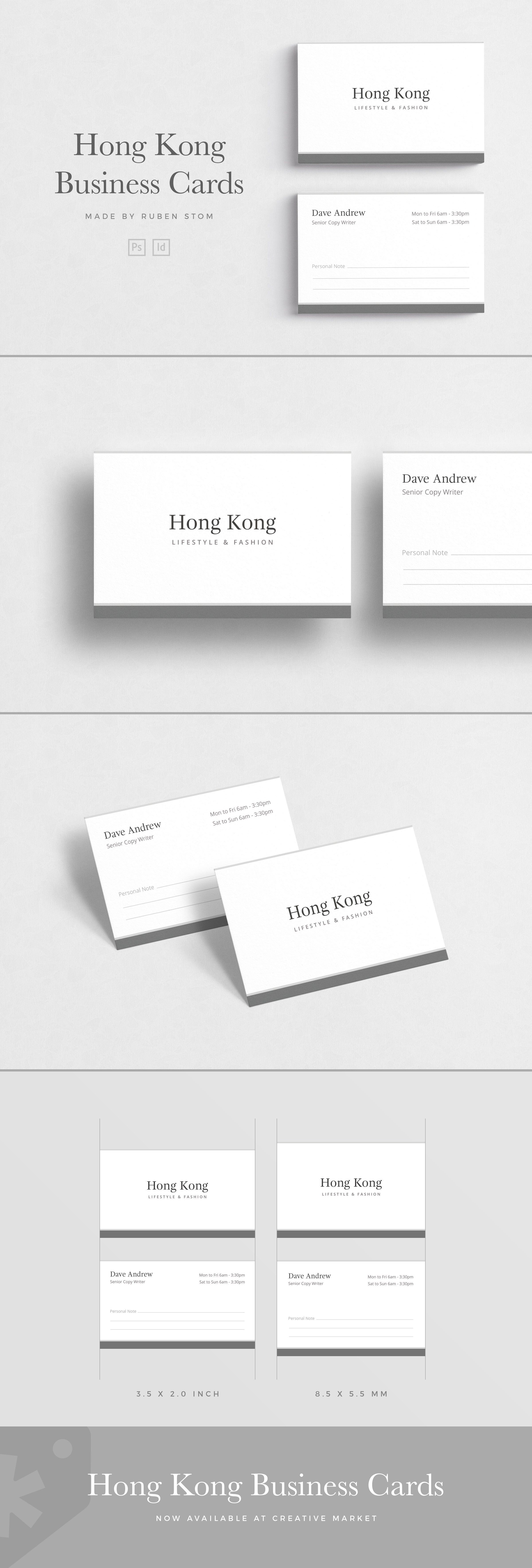 Hong Kong Business Card Elegant Business Cards Customizable Business Cards Templates Business Cards