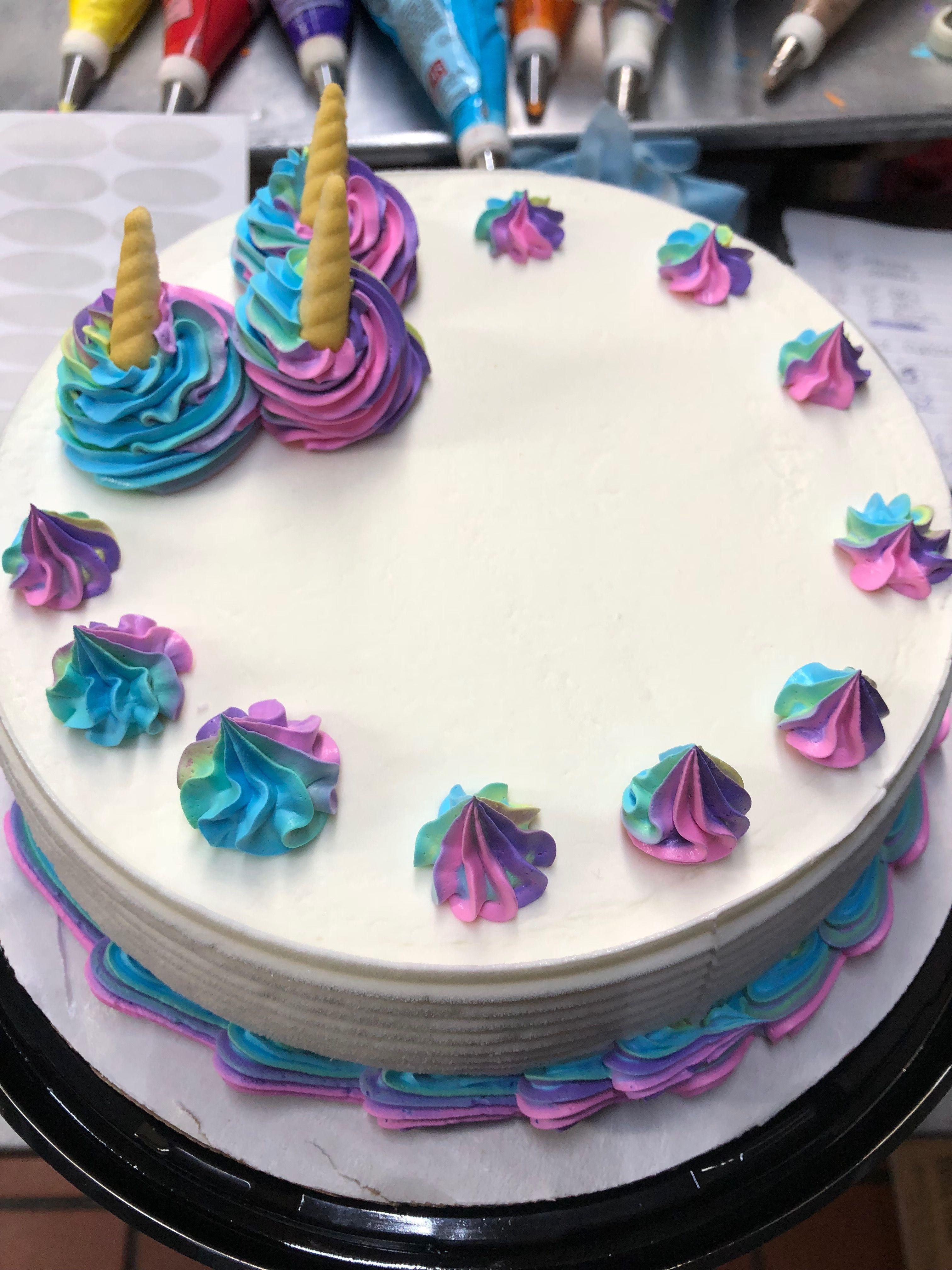 Remarkable Unicorn Cakes Dairy Queen Unicorn Cake Personalised Birthday Cards Epsylily Jamesorg