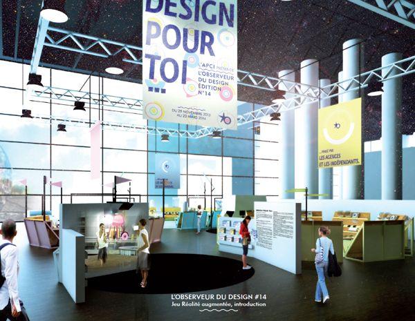 Design pour toi... by Barreau , via Behance - projet finaliste pour la scénographie de l'Observeur du design 2013 organisé par l'APCI.