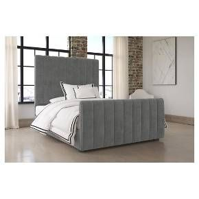 Single Double Linen Fabric Buttons End Gas Lift Up Ottoman Storage Bed Frame Bedroomideasforcoup Bed Frame With Storage Ottoman Storage Bed Bedroom Design Diy