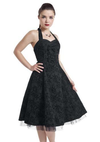 a3efedd3788117 Long Tattoo Dress - Medium-lengte jurk van H R London Jurken Voor Overdag