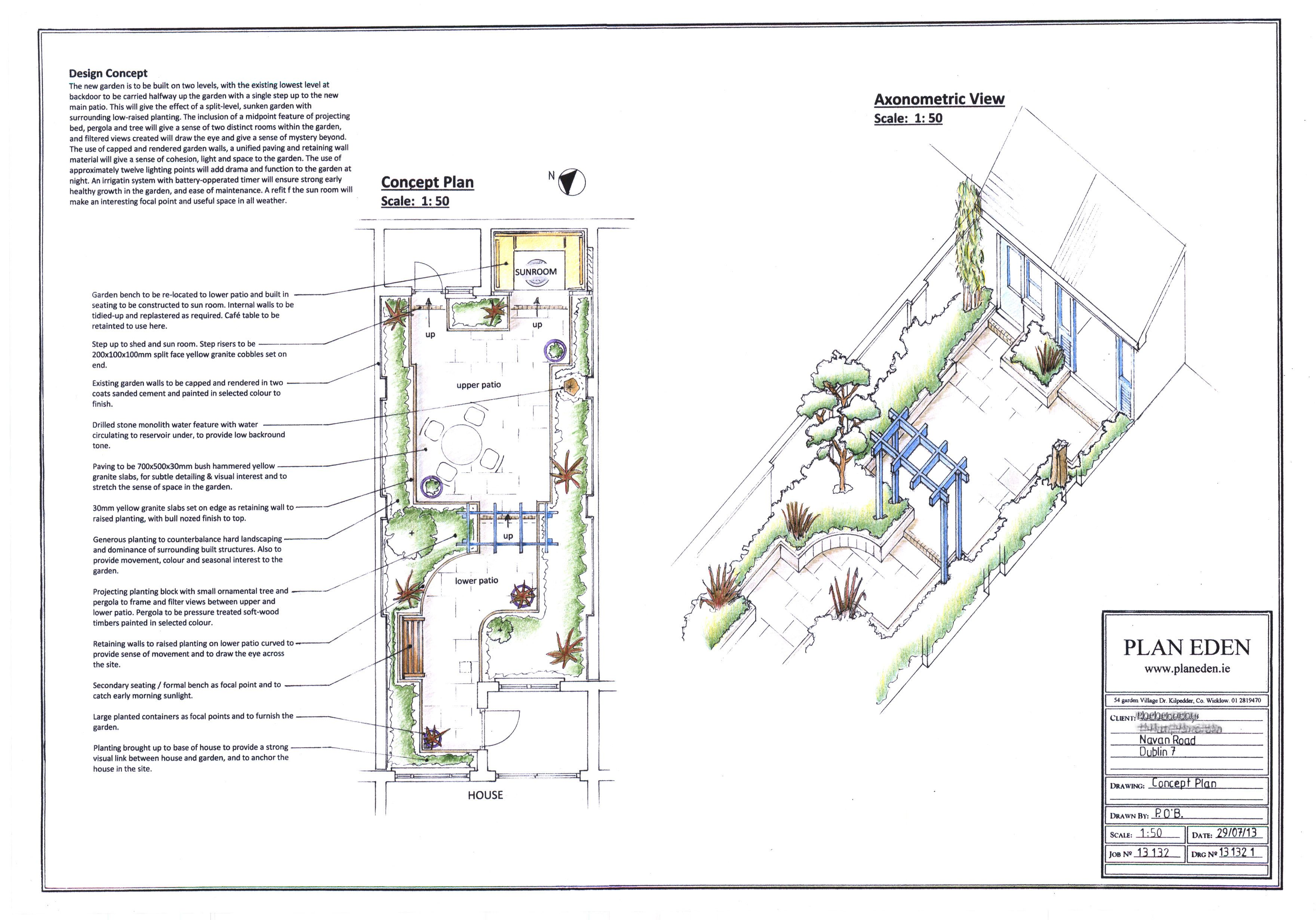 Small City Garden Design in North Dublin | Small city ...