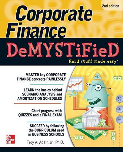 Book 7 49 Corporate Finance Demystified 2 E Finance Finance