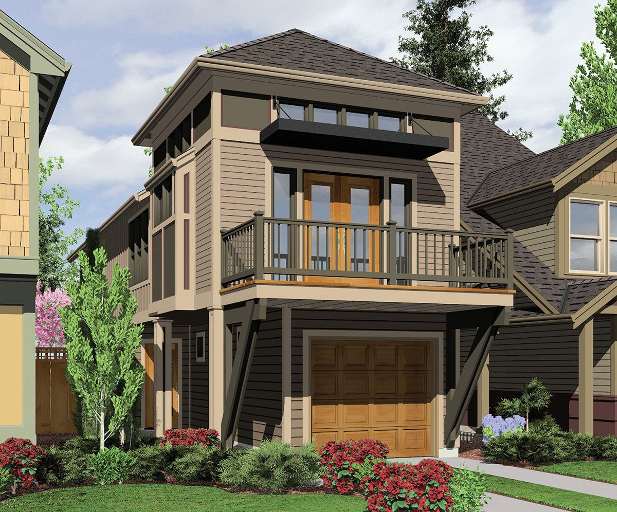 House Plan 6988AM A Winner in Any