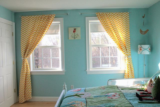 Http Curtainscolors Com Yellow Chevron Curtains Blue Walls Jpg Blue Walls Chevron Curtains Curtains