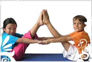partner navasana  aren't these kids cute  yoga for kids