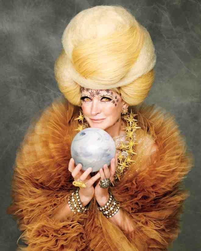Martha\u0027s Spellbinding Sorceress Costume Sorceress costume - martha stewart halloween ideas