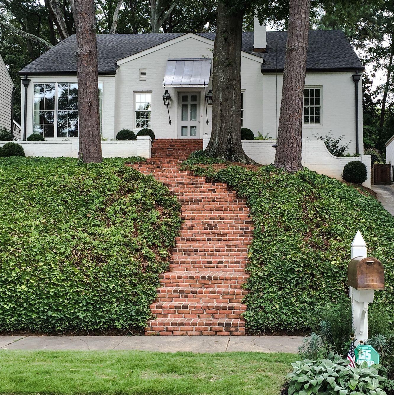 Beautiful white home in atlanta dream board pinterest curb