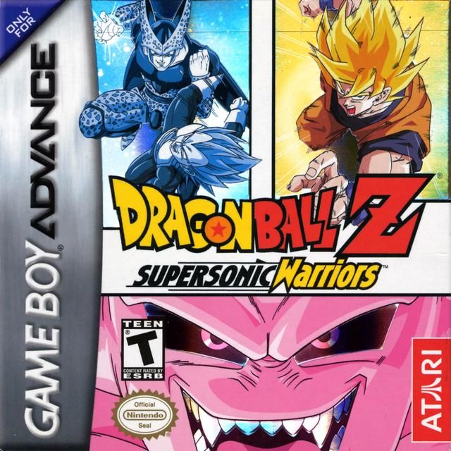 Dragon Ball Z Supersonic Warriors Gba With Images Gameboy