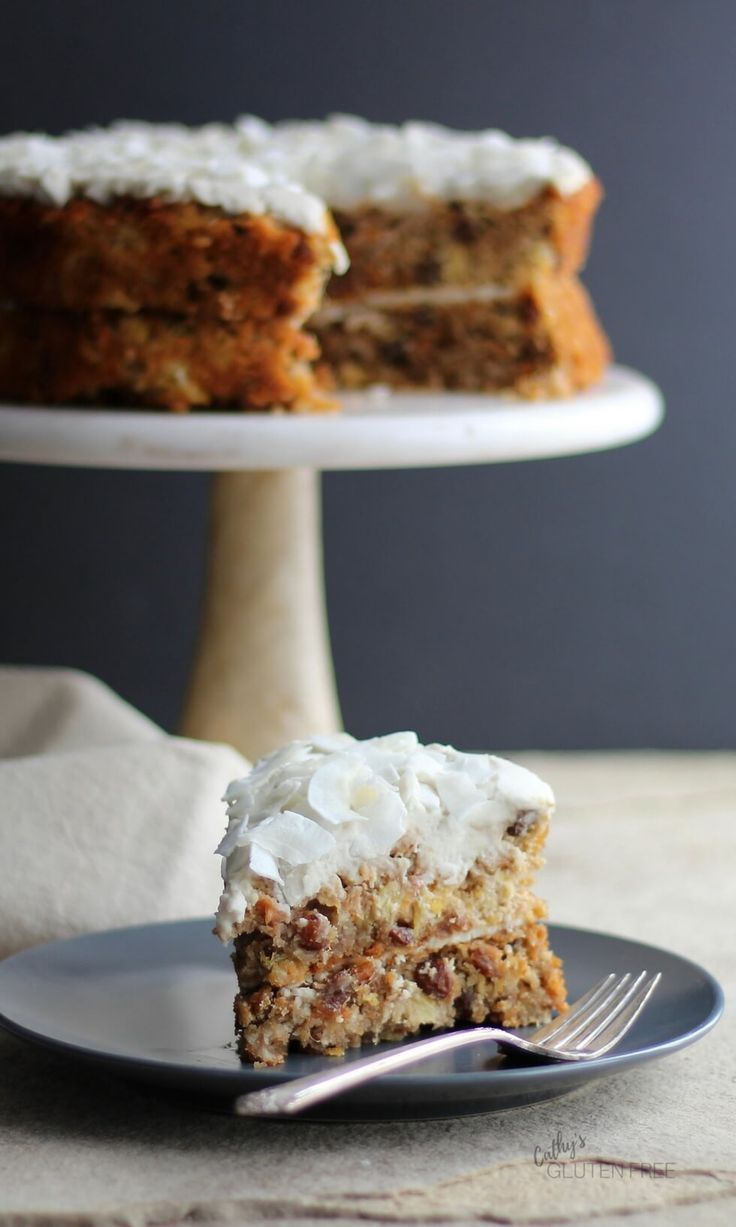 Carrot cake with pineapple and coconut recipe gluten