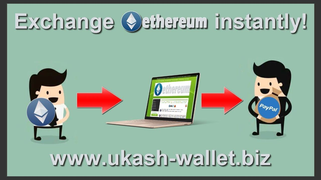 Send Ethereum to PayPal instantly. Recharge PayPal with Ethereum ...