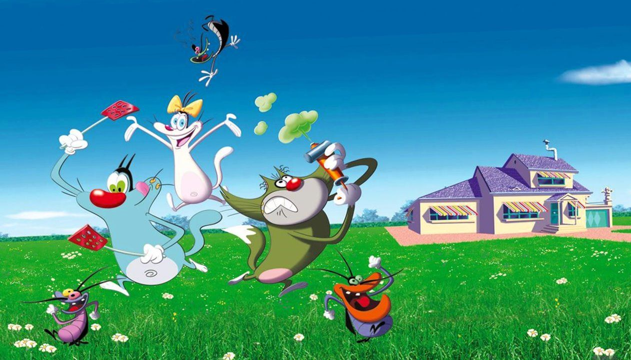 Oggy And The Cockroaches HD Wallpapers in 2019 | Doraemon ...