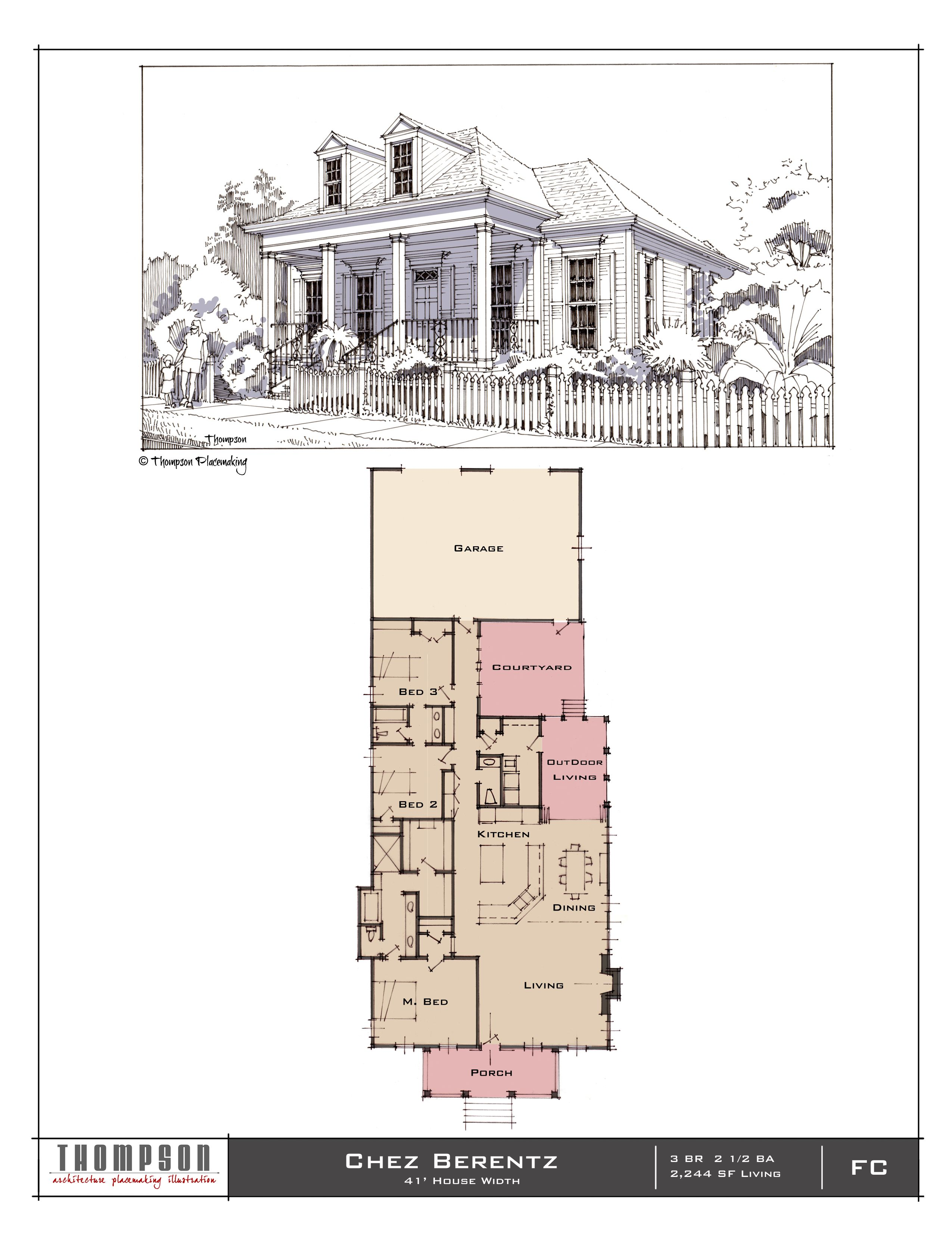 Chez Berentz 3 Br 2 1 2 Bath 2 244 Sf Cottage Design House Design Traditional House