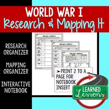 World war i mapping activity and research graphic organizer world war i mapping activity and research graphic organizer gumiabroncs Image collections