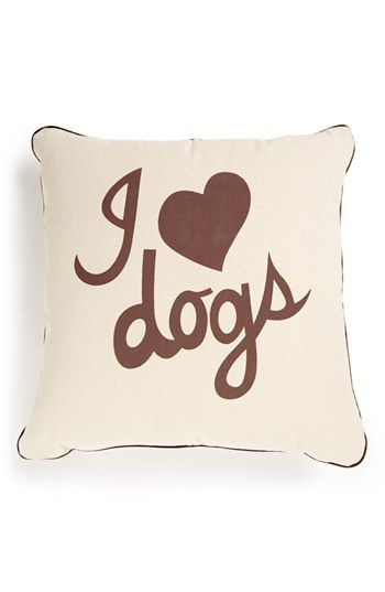 Romy + Jacob 'I Love Dogs' Pillow | Nordstrom