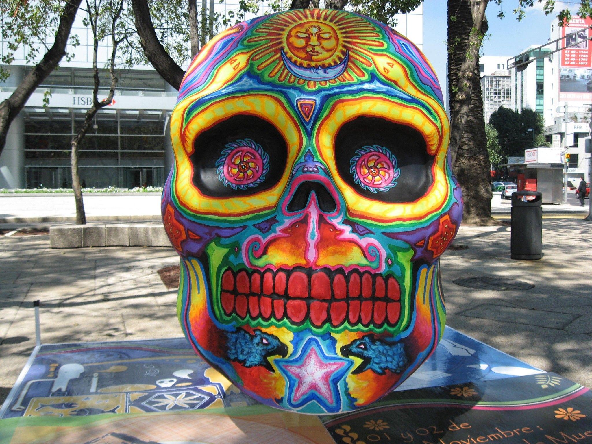 Dia De Los Muertos Mexico City