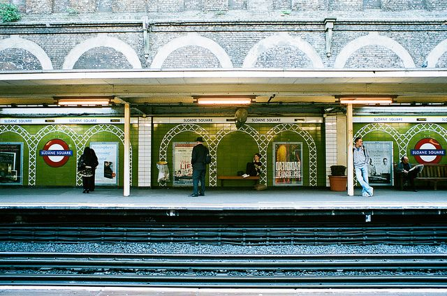 Sloan Square Station by Ironic Tonic, via Flickr