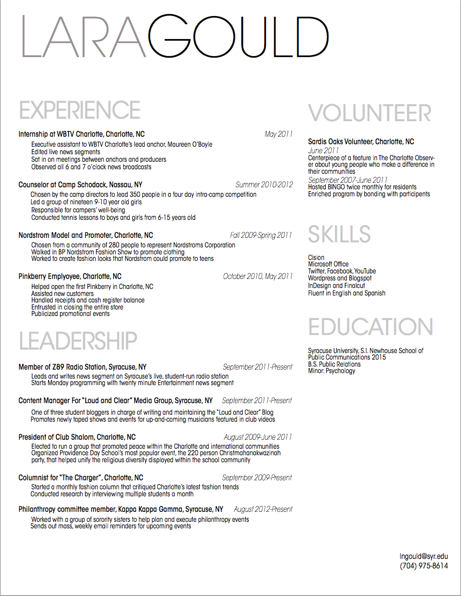 Pin by Lauren Jenison on Resume Ideas | Pinterest | Resume ideas ...