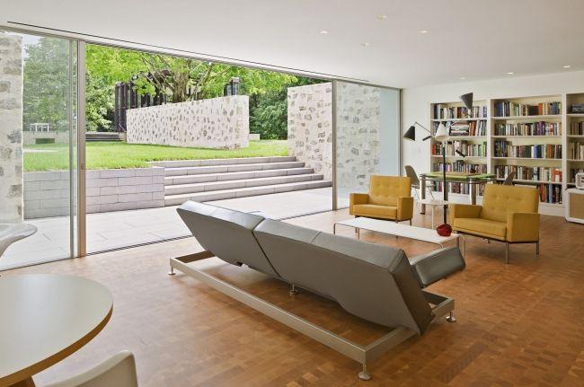 30 maisons modernes avec des grandes baies vitr es maisons contemporaines contemporain et for Maison moderne avec grande baie vitree