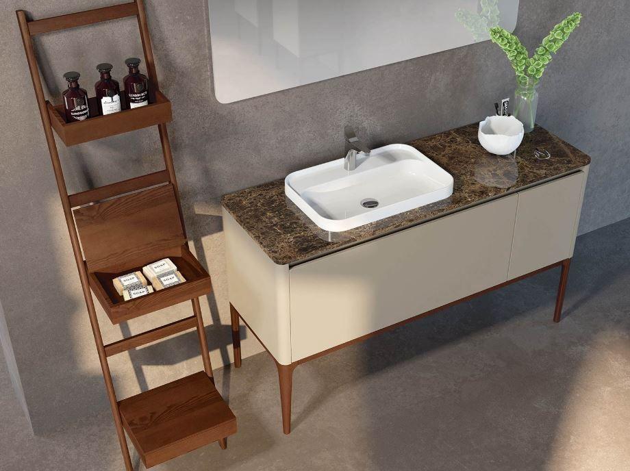 Start Waschbecken Armaturen Waschtisch Fliesen Naturstein