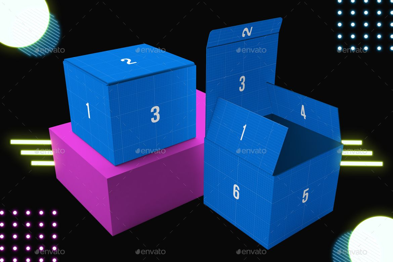 Download Neon Box Mockup V 2 Affiliate Neon Affiliate Box Mockup Neon Box Box Mockup Mockup Design