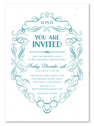 formal business invitation template