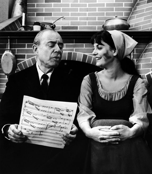 Composer Richard Rodgers and Lesley Ann Warren # ...
