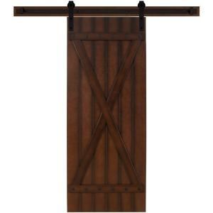 Sliding Door For Utility Room Downstairs Rustica Hardware 42 In X 84 In Rustica Reclaimed Home Depo Interior Sliding Barn Doors Interior Barn Doors Barn Door