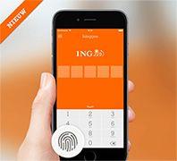 Ing Netherlands Adds Fingerprint Authentication To Their Mobile App Fingerprint Authentication Banking App Mobile Banking