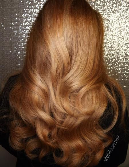 Long Golden Blonde Hairstyle Hair Styles Golden Brown Hair Color Copper Hair Color