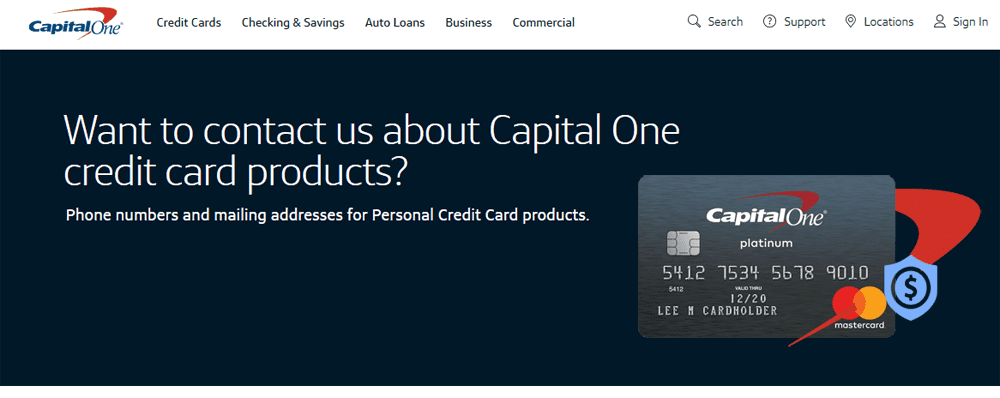 Contact Capital One >> The Capital One Secured Card Customer Service To Contact