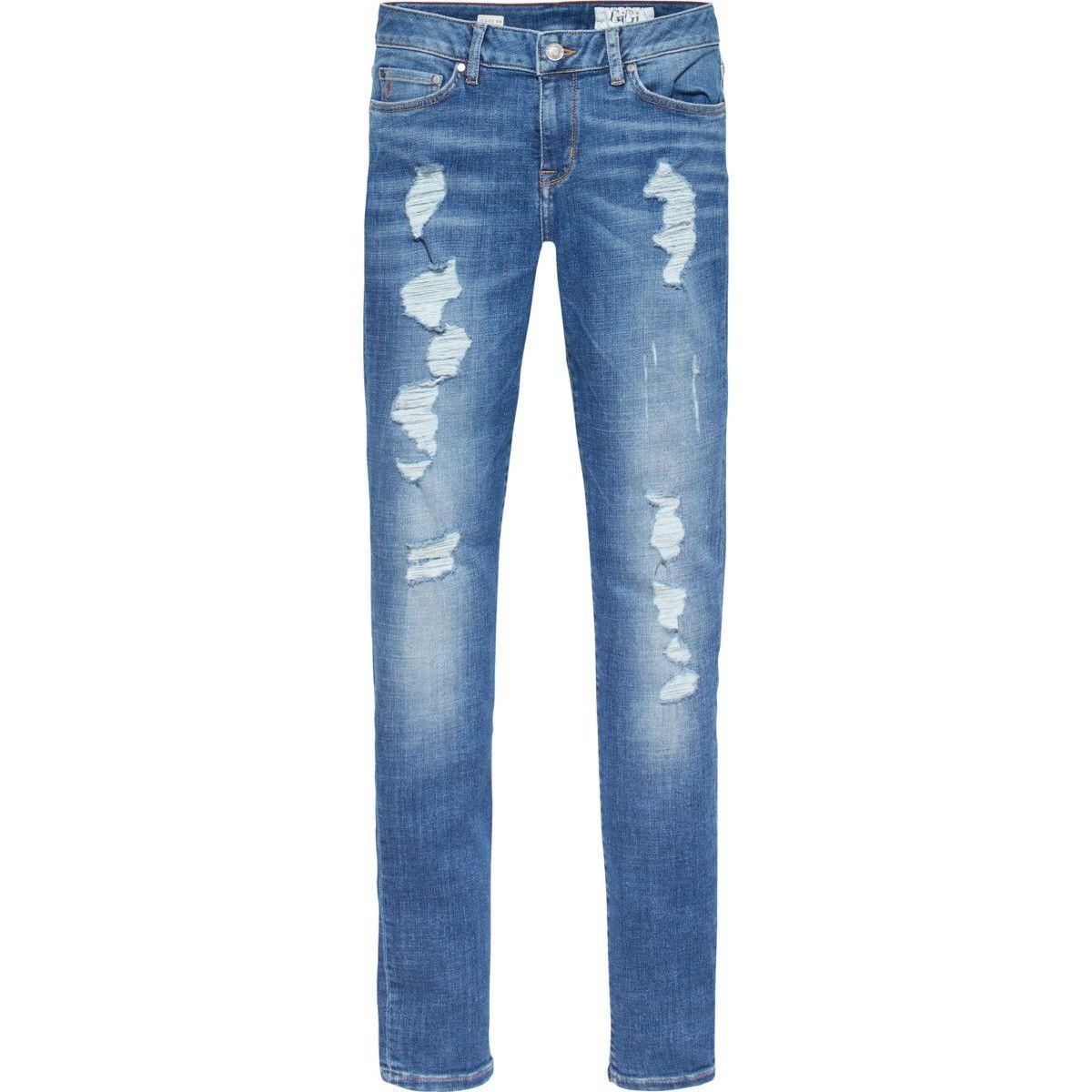 Tommy X Gigi dames jeans (met afbeeldingen) | Tommy hilfiger