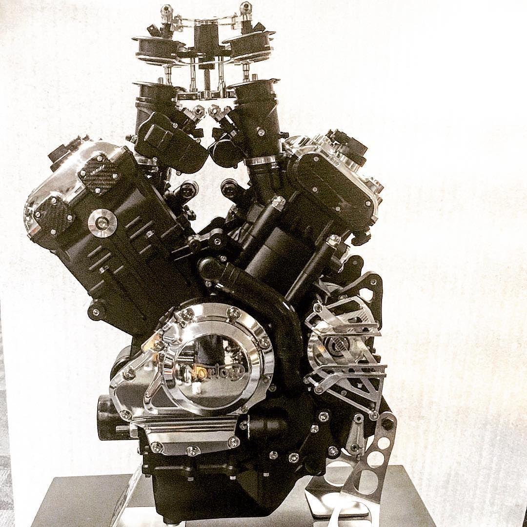 New Norton V4 1200 #norton #v4 #engine #engineering | Norton