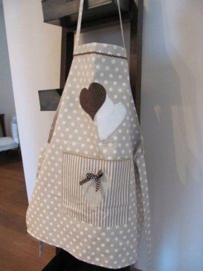 Apron cucito country idee per la cucina sewing - Grembiule da cucina ...