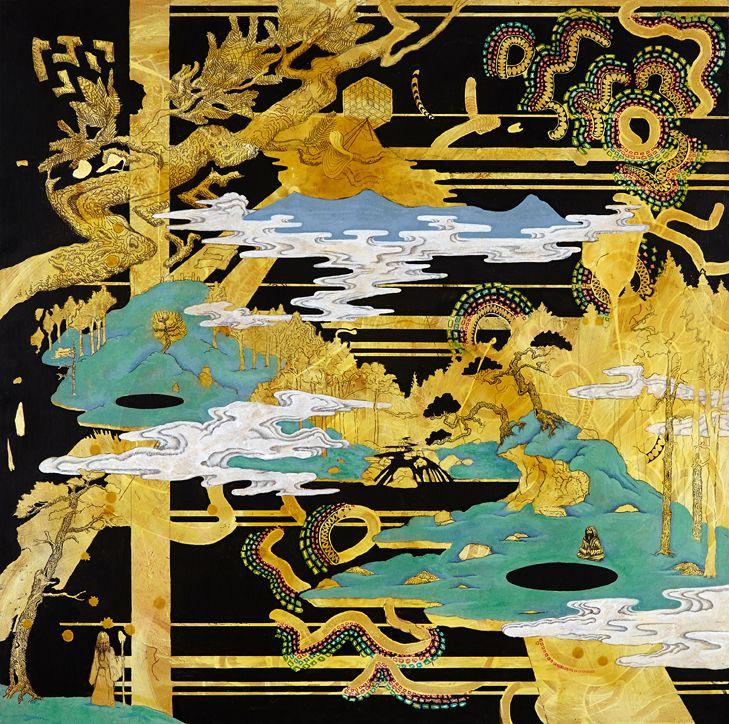 Kyle Noble's Paintings & Sculptures. via SUPERSONIC ART